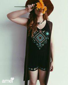 Sentir  #lojaamei #macaquinho #hippie #flores #amor