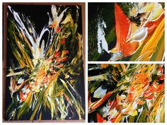 #abstract #painting #black #yellow #orange Sampschann- Original Abstract Paintings http://www.facebook.com/pages/Sampschann-Original-Abstract-Paintings/183119168429871