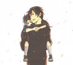 イタチとサスケ|鼬和小佐助|Big brother Itachi and little Sasuke