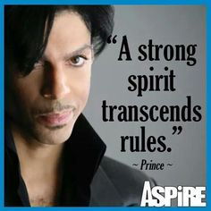 A strong spirit TRANSCENDS RULES!