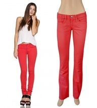 Red jeans for summer $38