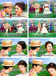 Bert trying to keep up with Mary is the cutest thing. He's just like oh, okay, whatever you say.