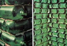 "HEINEKEN WOBO: A Beer Bottle That Doubles as a Brick. the idea of turning waste into useful products came to life in 1963 with the Heineken WOBO (world bottle). Envisioned by beer brewer Alfred Heineken & designed by Dutch architect John Habraken, the ""brick that holds beer"" was ahead of its ecodesign time, letting beer lovers and builders alike drink and design all in one sitting. Sadly the idea stalled but still remains a lasting example in end-use innovation."