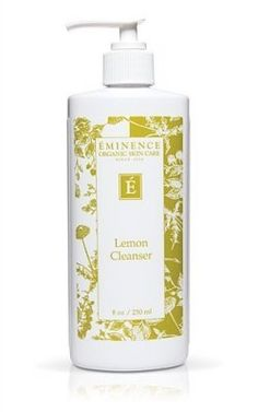 Eminence Organic Skincare. Lemon Cleanser by Eminence Organic Skin Care. $34.88. Organic. Handmade. FREE SKINCARE SAMPLES with purchase.. Skin Type: All skin types including: dry, oily, normal and sensitive.Benefits: Refreshing one step cleanser. Assists in preserving moisture balance within the skin. Gently removes make-up and all other impurities.
