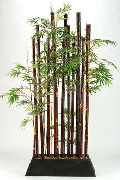 Decoracion De Interiores Con Plantas Ca 241 As De Bambu