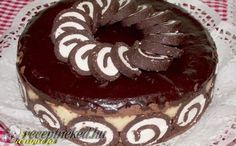Keksztekercs torta Sweet Cookies, Tiramisu, Oreo, Sweets, Chocolate, Cake, Ethnic Recipes, Food, Fancy Desserts