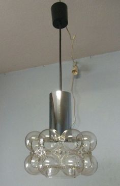 60´s Mid Century Bubble Ceiling Lamp