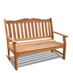 VIFAH V1236E Outdoor Wood Bench from Gifts for You 'n Me.com http://www.amazon.com/gp/product/B0058057NM?ie=UTF8=A1419KZRNP4OQB=Gifts%20for%20You%20%27n%20Me #homedecor