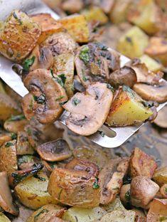 potato and mushroom side dish recipe
