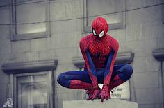Photography by Betty Pink tittle: Always Ready  ##Spiderman #superhero #Toronto