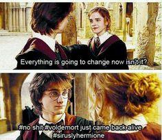Harry's face :D