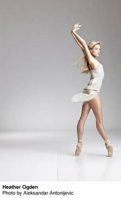 Heather Ogden - Nat'l Ballet of Canada (wears Freed 'Star' maker, like myself)