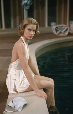 Grace Kelly Hollywood glamour