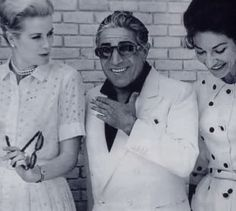 Grace Kelly, Onassis and Maria Callas