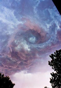 Remolino de nubes