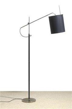 """Storch"" floor lamp, by J. T. Kalmar, c. 1970"