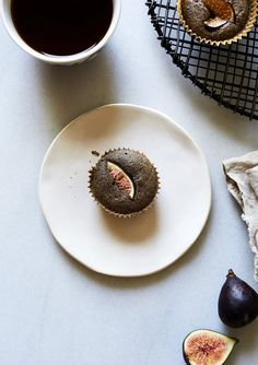 BUCKWHEAT MUFFINS WITH ROYAL FIG JAM — SK