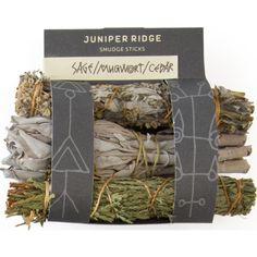 Juniper Ridge Mini Smudge Sticks | Sage/Mugwort/Cedar | Sportique