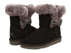 UGG Kids Kourtney (Little Kid/Big Kid) Black - Zappos.com Free Shipping BOTH Ways