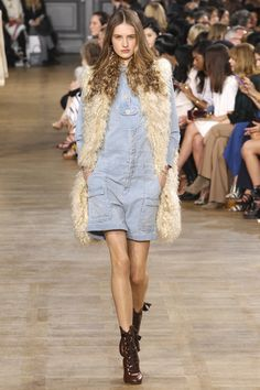 Chloé, Осень-зима 2015/2016, Ready-To-Wear, Париж