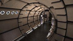 Millenium Falcon Tunnel