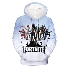 Shop a great selection of Fortnite Hoodie Novelty Youth Game Unisex Sweatshirt Pullover Pocket. Find new offer and Similar products for Fortnite Hoodie Novelty Youth Game Unisex Sweatshirt Pullover Pocket. Hoodie Sweatshirts, Pullover Sweaters, Hooded Sweater, Hooded Jacket, Hero Games, Battle Royale, Cosplay, White Hoodie, White Long Sleeve