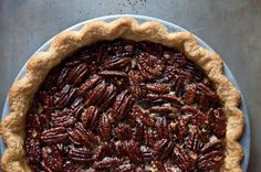 Spiced Maple Pecan Pie with Star Anise, a recipe on Food52