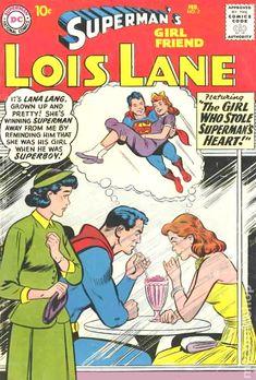 Lois Lane Superman& Girlfriend strict FN/VF High-Grade off sale on Superman Comic Books, Old Comic Books, Vintage Comic Books, Vintage Comics, Comic Book Covers, Comic Superheroes, Superman Logo, Batman, Old Comics