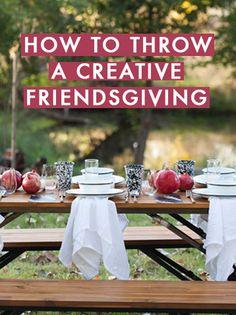 How To Throw A Creative Friendsgiving.