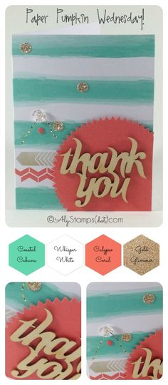 Glitter Greetings Paper Pumpkin Kit Stampin' Up!
