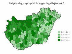 Itt laknak a szegények és a gazdagok: az ország fejlettségtérképe http://www.origo.hu/gazdasag/20140806-magyarorszag-jarasainak-fejlettsegi-terkepe.html