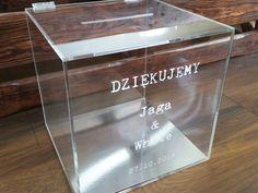 Pudło/skrzynka na koperty - przezroczyste, transparentne plastikowe pudełko na koperty | Fajnakartka.pl Bathroom, Washroom, Full Bath, Bath, Bathrooms