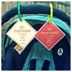 Items Similar To Preemie Newborn Infant Set Of Car Seat Signs Baby Boy Or Girl Gift On Etsy