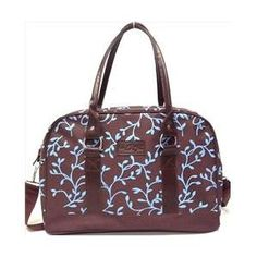 Baby Ziggles 91773, Printed Canvas With 2 Side Pockets, Jasmine Collection Diaper Bag WALLMART