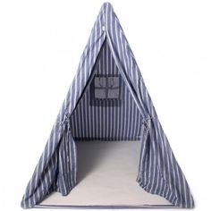 THE WELL APPOINTED HOME   BARGAIN BASEMENT ITEM: Navy Multi-Stripe Wigwam  $239.00 In Stock  |   Usually ships in 2-3 business days.  FREE SHIPPING