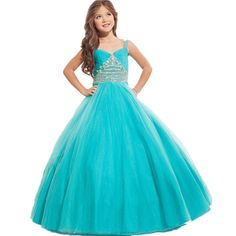 Find More Flower Girl Dresses Information about vestido de festa Ball Gown…