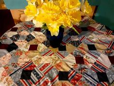Gift Wrapping, Quilts, Gift Wrapping Paper, Wrapping Gifts, Quilt Sets, Log Cabin Quilts, Gift Packaging, Quilting, Quilt