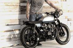 Old-School Kawasaki from Analog Motorcycles.