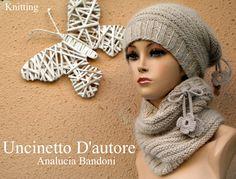 #uncinettodautore #analuciabandoni #knitting