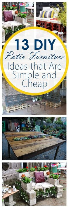 13-DIY-Patio-Furniture-Ideas-that-Are-Simple-and-Cheap.jpg (600×1800)