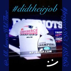 #project365 Day18 ...Couldn't be prouder of my Boyz from New England!! They #didtheirjob and became this year's AFC Champions!! Now, onto the #SuperBowl!!! =) ~xo~ #photo #photooftheday #potd #picoftheday #football #doyourjob #newengland #nepatriots #iger