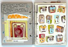 journal page - camera love