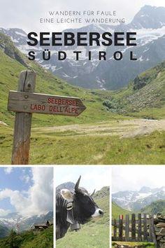 Wandern für Faule: Eine leichte Wanderung zum Seebersee in Südtirol / Italien. Mit atemberaubend schöner Aussicht.