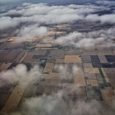 Flying over farmland in Iowa where I grew up. #iowa #farm by dguttenfelder