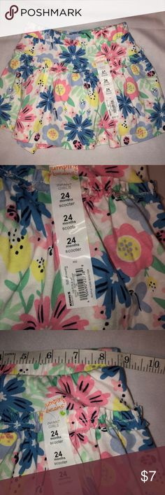 Arizona ~ BABY GIRLS SIZE 24 MONTHS ~ SKORT ~ PANTY LINED SKIRT  NWT NEW