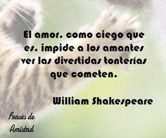 Frases de amor de escritores de William Shakespeare