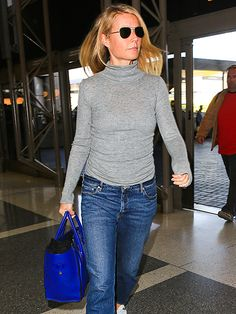 Star Tracks: Friday, January 22, 2016 | GOOP ON THE GO | Shortly after announcing her new makeup range, a laid-back Gwyneth Paltrow heads out of LAX airport on Thursday.