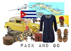 """""""cuba"""" by atholin ❤ liked on Polyvore featuring Beauxoxo, Ray-Ban and Emanuel Ungaro"""