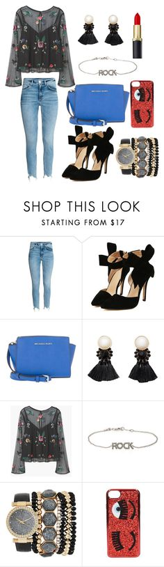 """Diva Place"" by ellieacd ❤ liked on Polyvore featuring H&M, MICHAEL Michael Kors, MANGO, Zadig & Voltaire, Jessica Carlyle and Chiara Ferragni"