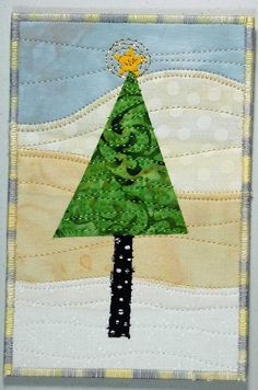 Winter Tree Postcard 2 by TerriStegmillerArt on Etsy, $12.00